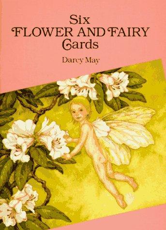 Six Flower and Fairy Cards (Dover - Fairies Flower Postcard Fairy