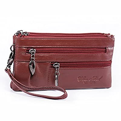 Wristlet Wallet for Women Leather Clutch Handbags Small Crossbody Purse Cellphone Bag Satchel Pouch Fit iPhone 8 7 Plus X 6S/6 5S 5C Samsung Galaxy S8+ S7 S6 Edge S5 Multi Pockets Katloo