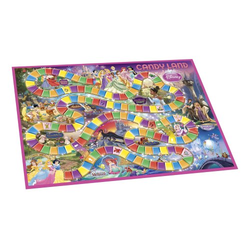Candy Land Game: Disney Princess Edition (Amazon Exclusive)