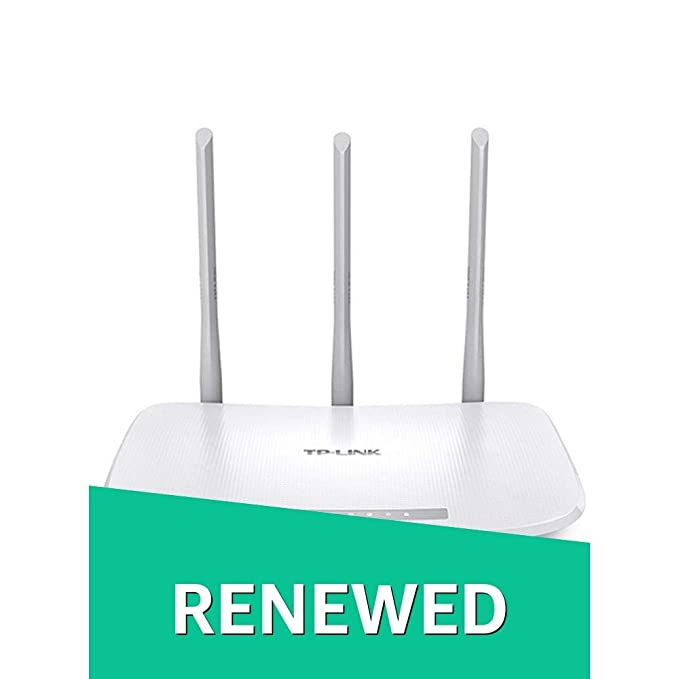 Renewed  TP Link TL WR845N 300Mbps Wireless N Router  White  Routers  Computers   Accessories