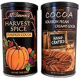 McSteven's Harvest Spice Cocoa and Bourbon Pecan Creamy Cocoa Bundle 2 Items: 1 Pumpkin Cocoa and 1 Bourbon Pecan Cocoa