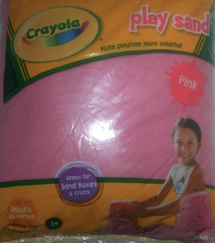 (Constructive Playthings Crayola Pink Play Sand 20 Pound Bag)