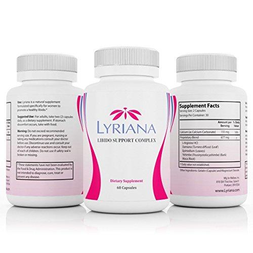 Lyriana Female Enhancer Natural Aphrodisiac product image