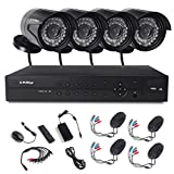 KAREye 8CH 1080P DVR Security Camera System Outdoor Indoor Home Video Day Night IR-CUT CCTV Surveillance System IP66 Waterproof Cameras,NO HDD Review