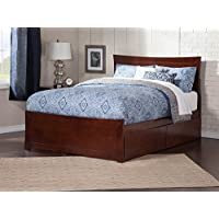 Atlantic Furniture AR9016114 Metro Bed Solid Hardwood, Twin XL