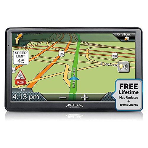 Magellan Roadmate 9612T-LM 7-Inch Touchscreen GPS Navigation System (Certified Refurbished)