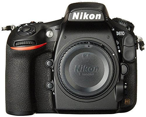 Nikon D810 Digital SLR Camera Body (Certified Refurbished)
