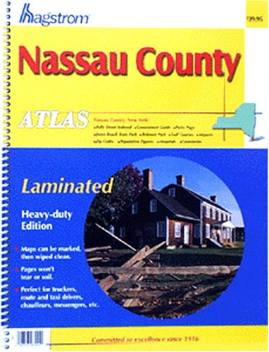 Nassau County Atlas: Laminated (Hagstrom Nassau County, used for sale  Delivered anywhere in USA