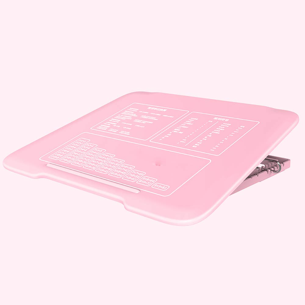 GYFY Student Writing Posture Anti-Myopia Posture Learning Table Desk Child Vision Protector,Pink