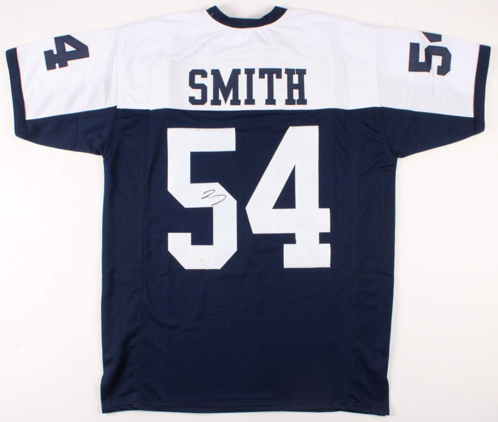 wholesale dealer 44ae6 e8993 Jaylon Smith #54 Signed Dallas Cowboys Jersey (JSA COA) at ...