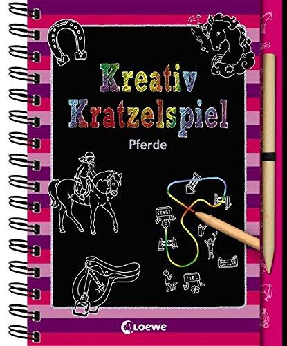 Kreativ-Kratzelspiel: Pferde (Kreativ-Kratzelbuch)