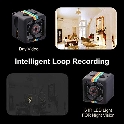 Hidden Spy Camera 1080P Mini Security Wireless cam with Night Vision, Video Recorder for Nanny/Housekeeper, Sports Action Cam with Motion Detection for Home, Car, Drone, Office and Outdoor Use by ITLOOK (Image #4)