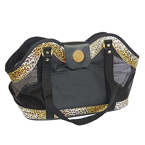 New York Dog Leopard Open Pet Tote