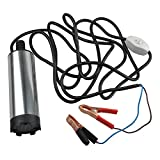 Fuel pump- SODIAL(R) DC12V Water Oil Diesel Stainless steel car submersible Fuel pump