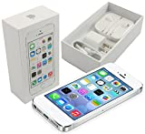 Apple iPhone 5s 16GB GSM Smartphone - Factory Unlocked by Apple (White/Silver)