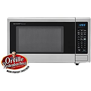 SHARP SMC1442CS 1.4 cu. ft. Capacity Countertop Microwave with 1000 Cooking Watts, in Stainless Steel