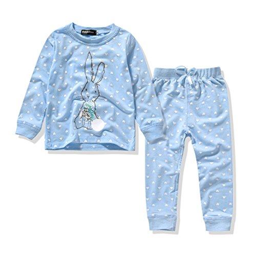 Girls Pajamas Cotton Sleepwear Prints