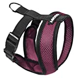 Gooby 04110 Choke Free Comfort X Harness for Small Dogs, Large, Purple