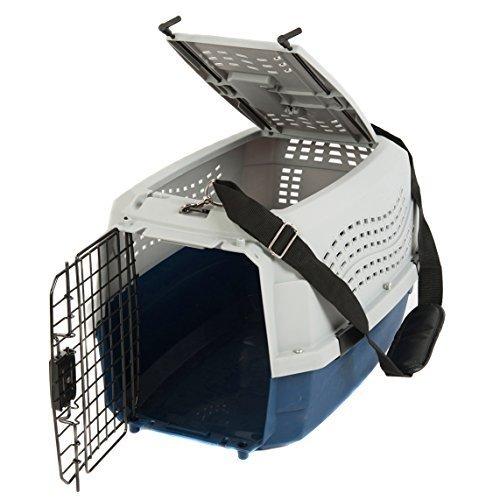 Favorite Dog Cat Rabbit Two Door Top Load Car Travel Vet Visit Pet Carrier by Favorite