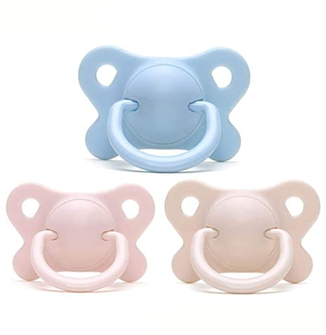 TINERS Baby Pacifier Newborn Silicone Comfort Chupete 6 ...