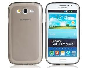 Transparent TPU Rubber Case for Samsung Galaxy Grand i9080/i9082 (Transparent Black)
