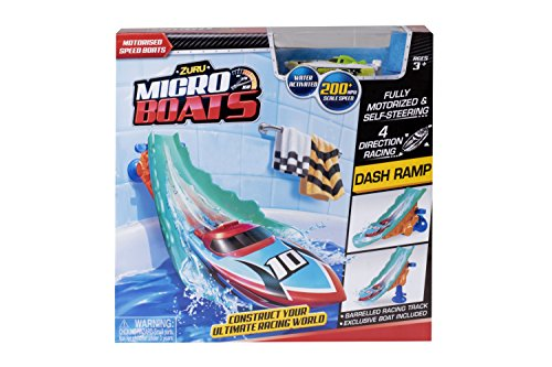Zuru Micro Boats Water Slide Plus Exclusive Motorized Boat - Exclusive Water
