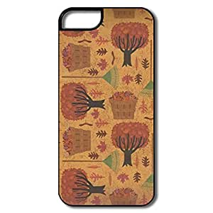 Autumn Trees Case Skin For Apple IPhone 5 5s