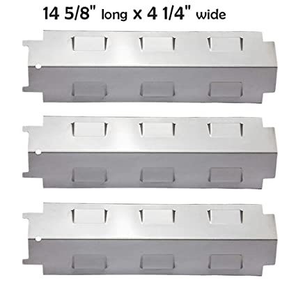 Amazon Com Yiham Ks734 Gas Grill Stainless Steel Heat Plate Shield