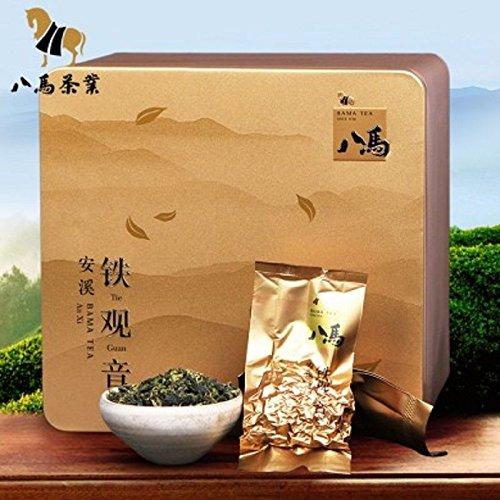 Bama tea Anxi Tieguanying tea Qingxiang tea Chinese Oolong tea 500g八马茶业 茶叶 安溪铁观音 by Yichang Yaxian Food LTD.
