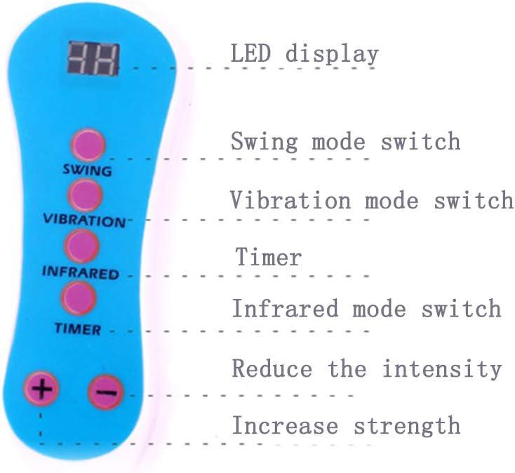 Amazon.com: Masajeador de pies, Mini Smart Swing Ejercitador ...