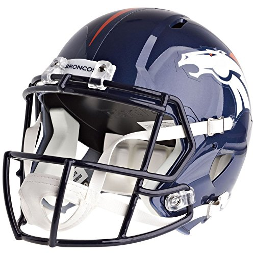 Riddell Denver Broncos Officially Licensed Speed Full Size Replica Football Helmet