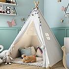 史低价:Sumbababy 高颜值儿童棉帆布帐篷,宝宝的梦想天地