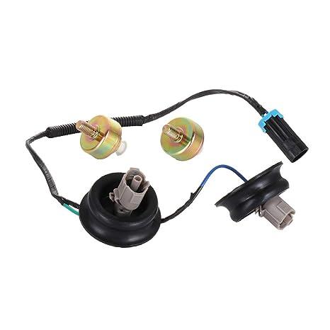 tuparts ignition detonation knock sensor wire harness compatible with chevrolet  1999-2004 silverado 2500/