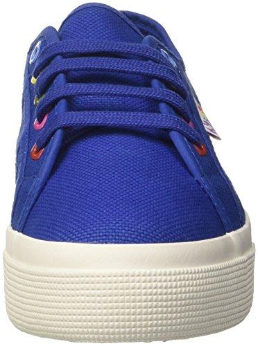 Superga Dame 2730-cotw Farver Hjerter Sneaker Blu (intens Blå) kHLzC