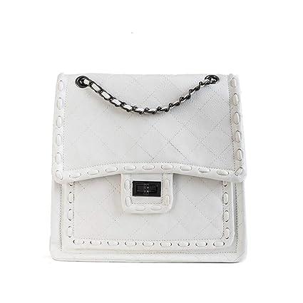 8d380c662e08 Amazon.com: XLMLJYX Women Messenger Bags Luxury Shoulder Bag Quilted ...