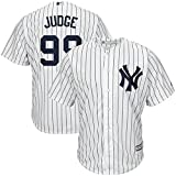 Majestic Athletic Aaron Judge New York Yankees #99 Mens Baseball Player Jersey - White Size M