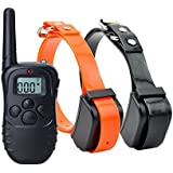 Rechargeable and Waterproof Training Collar (For 2 Dogs)