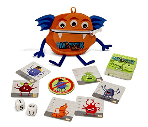 (Monster Match Card and Dice Game by North Star Games)