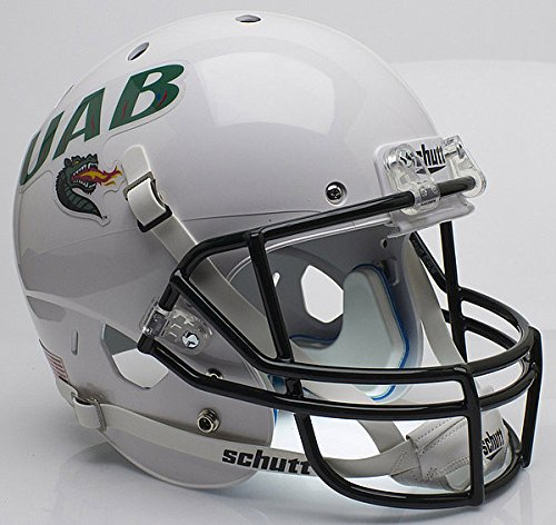 Schutt Alabama-Birmingham (UAB) Blazers Full XP Replica Football Helmet - White - NCAA Licensed - UAB Blazers Collectibles