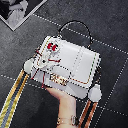 du Version de Sac Messenger à de Main Bande WSLMHH Sauvage de à Paquet Blanc Mode marée coréenne Mode féminine l'épaule La de Large Sac 5tcqw0cf