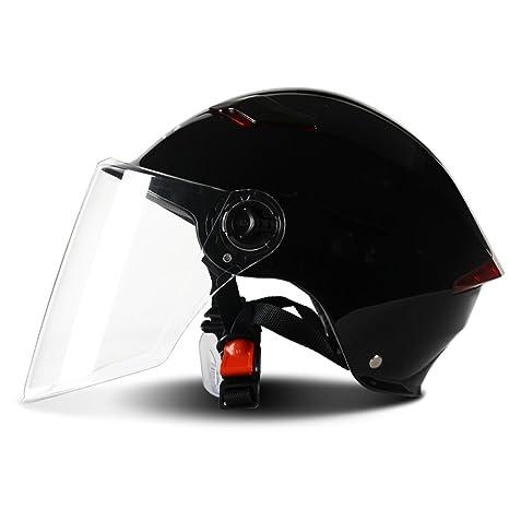Casco de la motocicleta Mujer/Hombres Verano Protección solar Casco de seguridad del coche eléctrico