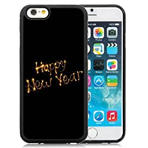 Fashionable and DIY Phone Case Design with Happy New Year 2015 Fireworks iPhone 6 4.7inch TPU case Wallpaper