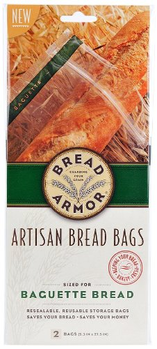 Artisan Vinaigrette (Bread Armor Baguette Bread Bags, 2-Pack)