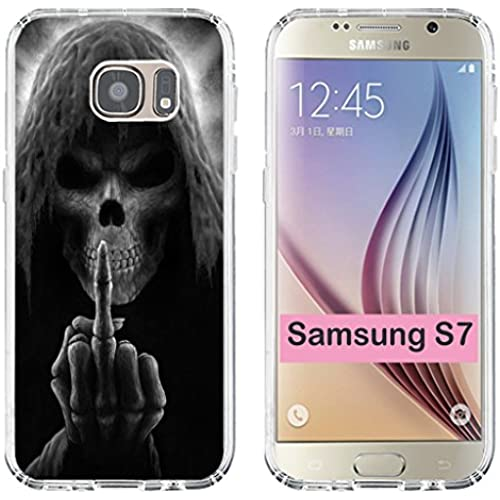 S7 Case Fucking,Samsung Galaxy S7 Slim TPU Soft Clear Full Protective Case Fucking Design Sales