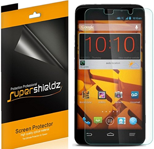 [6-Pack] Supershieldz- Anti-Glare & Anti-Fingerprint (Matte) Screen Protector - Boost Mobile Phones Boost Max