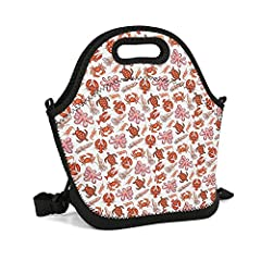 Quality life starts with simple stylish design.This lunch bag can be used as lunch bag, picnic bag, sundry bag, suitable for all groups,include men,women,girls,boys and kids.This lunch bag looks small but with large capacity, it could perfect...