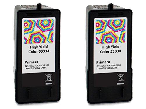 (Primera 53334 High Yield Tri-Color Ink Cartridge 2-Pack)