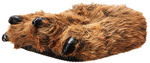 Wishpets Stuffed Animal - Soft Plush Toy for Kids - Furry Grizzly Bear Slippers (Fuzzy Bear Claw Slippers)