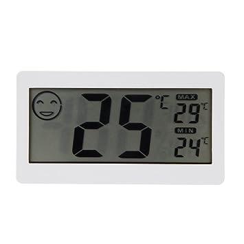 """KKmoon 3.3"""" LCD Mini Termómetro Higrómetro Digital Medidor de la Temperatura y la Humedad ℃"""