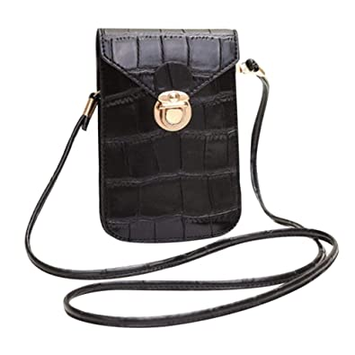 44538b8e4d0a giveyoulucky Crocodile Embossed Mini Women Faux Leather Crossbody ...